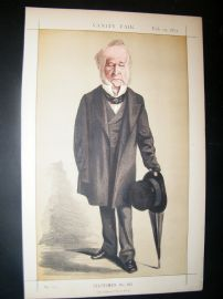 Vanity Fair Print 1872 Spencer Horatio Walpole
